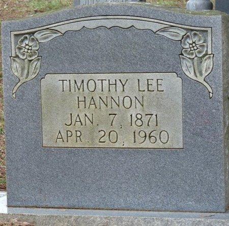 HANNON, TIMOTHY LEE - Colbert County, Alabama | TIMOTHY LEE HANNON - Alabama Gravestone Photos