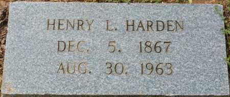 HARDEN, HENRY L - Colbert County, Alabama | HENRY L HARDEN - Alabama Gravestone Photos