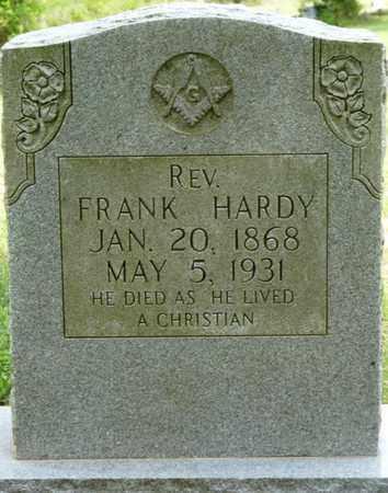 HARDY, FRANK - Colbert County, Alabama | FRANK HARDY - Alabama Gravestone Photos