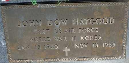 HAYGOOD (VETERAN WWII KOR), JOHN DOW - Colbert County, Alabama | JOHN DOW HAYGOOD (VETERAN WWII KOR) - Alabama Gravestone Photos