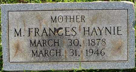 HAYNIE, M. FRANCES - Colbert County, Alabama | M. FRANCES HAYNIE - Alabama Gravestone Photos