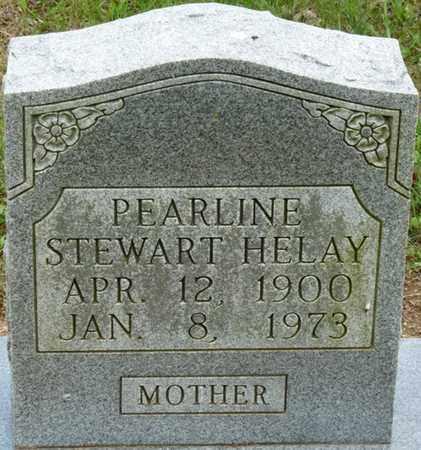 STEWART HELAY, PEARLINE - Colbert County, Alabama | PEARLINE STEWART HELAY - Alabama Gravestone Photos