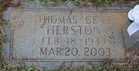 HERSTON, THOMAS GENE - Colbert County, Alabama   THOMAS GENE HERSTON - Alabama Gravestone Photos