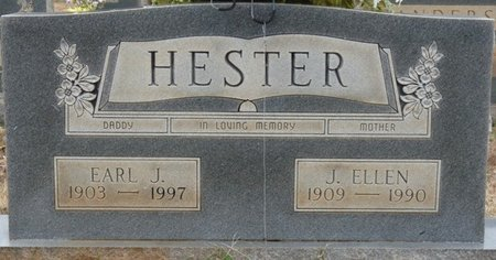 HESTER, JULIA ELLEN - Colbert County, Alabama | JULIA ELLEN HESTER - Alabama Gravestone Photos