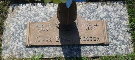 HESTER, JAMES BRYAN - Colbert County, Alabama | JAMES BRYAN HESTER - Alabama Gravestone Photos