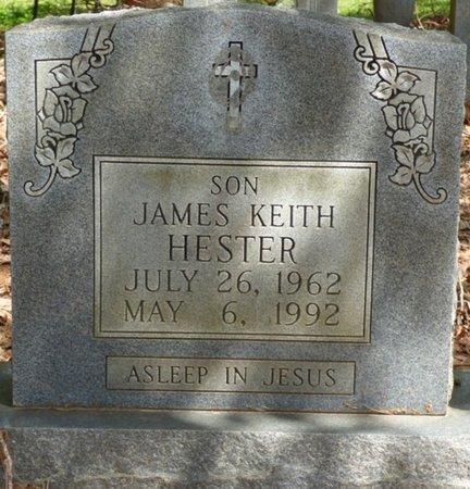 HESTER, JAMES KEITH - Colbert County, Alabama | JAMES KEITH HESTER - Alabama Gravestone Photos