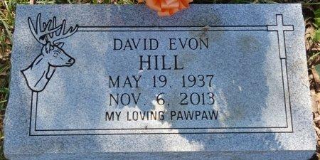 HILL, DAVID EVON - Colbert County, Alabama | DAVID EVON HILL - Alabama Gravestone Photos