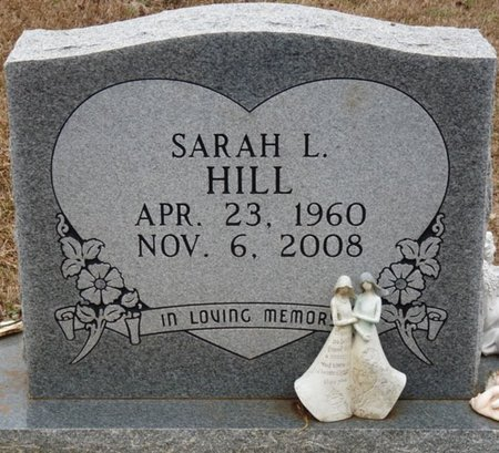 HILL, SARAH L - Colbert County, Alabama | SARAH L HILL - Alabama Gravestone Photos
