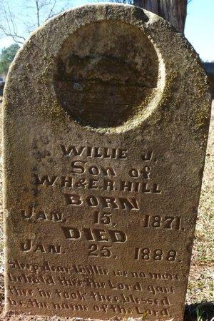HILL, WILLIE J - Colbert County, Alabama | WILLIE J HILL - Alabama Gravestone Photos