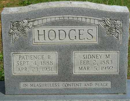 HODGES, SIDNEY M - Colbert County, Alabama | SIDNEY M HODGES - Alabama Gravestone Photos