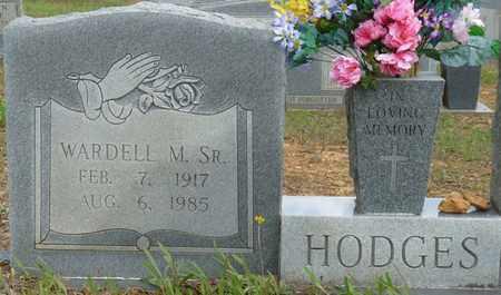 HODGES SR., WARDELL M - Colbert County, Alabama | WARDELL M HODGES SR. - Alabama Gravestone Photos