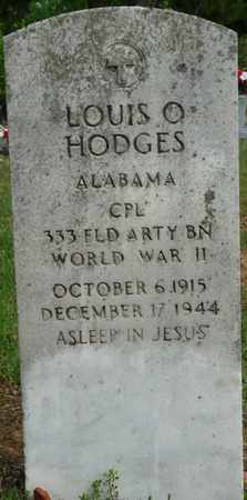 HODGES (VETERAN WWII), LOUIS O - Colbert County, Alabama   LOUIS O HODGES (VETERAN WWII) - Alabama Gravestone Photos