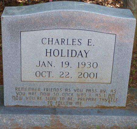 HOLIDAY, CHARLES E - Colbert County, Alabama | CHARLES E HOLIDAY - Alabama Gravestone Photos