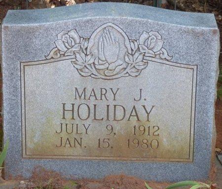HOLIDAY, MARY J - Colbert County, Alabama   MARY J HOLIDAY - Alabama Gravestone Photos