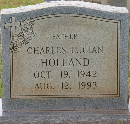 HOLLAND, CHARLES LUCIAN - Colbert County, Alabama | CHARLES LUCIAN HOLLAND - Alabama Gravestone Photos