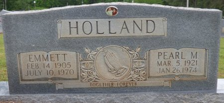 HOLLAND, EMMETT - Colbert County, Alabama | EMMETT HOLLAND - Alabama Gravestone Photos
