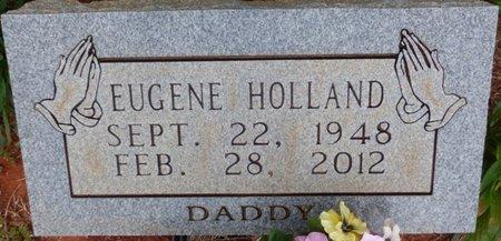 HOLLAND, EUGENE - Colbert County, Alabama   EUGENE HOLLAND - Alabama Gravestone Photos