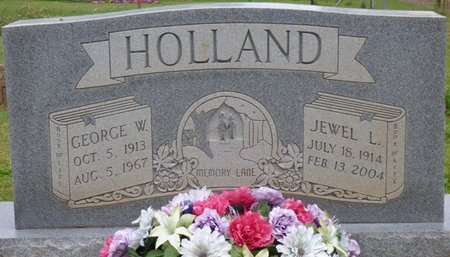 HOLLAND, GEORGE W - Colbert County, Alabama   GEORGE W HOLLAND - Alabama Gravestone Photos