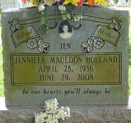 "HOLLAND, JENNIFER ""JEN"" - Colbert County, Alabama | JENNIFER ""JEN"" HOLLAND - Alabama Gravestone Photos"