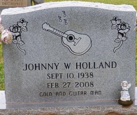 HOLLAND, JOHNNY W - Colbert County, Alabama | JOHNNY W HOLLAND - Alabama Gravestone Photos