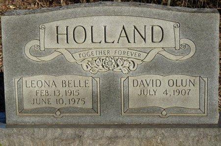 HOLLAND, DAVID OLUN - Colbert County, Alabama | DAVID OLUN HOLLAND - Alabama Gravestone Photos
