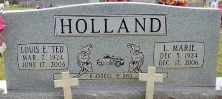 HOLLAND, L. MARIE - Colbert County, Alabama | L. MARIE HOLLAND - Alabama Gravestone Photos