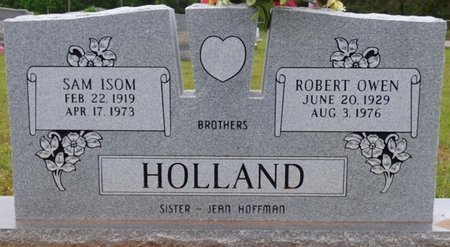 HOLLAND, SAM ISOM - Colbert County, Alabama | SAM ISOM HOLLAND - Alabama Gravestone Photos