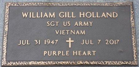 HOLLAND (VETERAN VIET), WILLIAM GILL (NEW) - Colbert County, Alabama   WILLIAM GILL (NEW) HOLLAND (VETERAN VIET) - Alabama Gravestone Photos