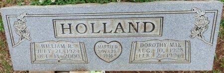 HOLLAND, WILLIAM R - Colbert County, Alabama | WILLIAM R HOLLAND - Alabama Gravestone Photos