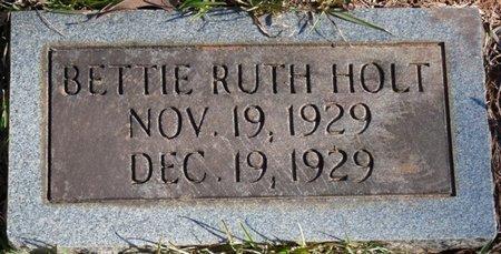 HOLT, BETTIE RUTH - Colbert County, Alabama | BETTIE RUTH HOLT - Alabama Gravestone Photos