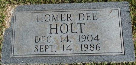 HOLT, HOMER DEE - Colbert County, Alabama | HOMER DEE HOLT - Alabama Gravestone Photos