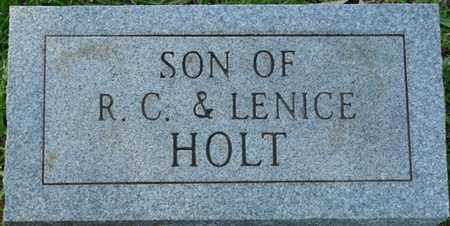 HOLT, INFANT SON - Colbert County, Alabama | INFANT SON HOLT - Alabama Gravestone Photos