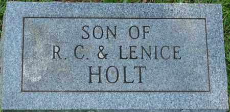 HOLT, INFANT SON - Colbert County, Alabama | INFANT SON HOLT - Alabama Gravestone Photos