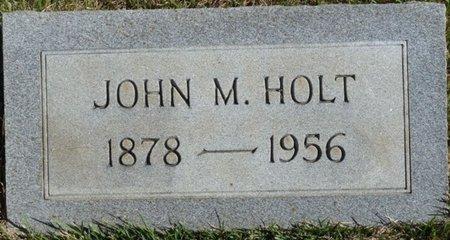 HOLT, JOHN M - Colbert County, Alabama | JOHN M HOLT - Alabama Gravestone Photos