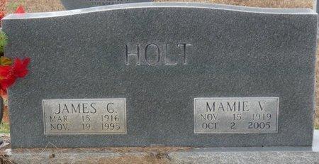 HOLT, MAMIE VIRGINIA - Colbert County, Alabama   MAMIE VIRGINIA HOLT - Alabama Gravestone Photos
