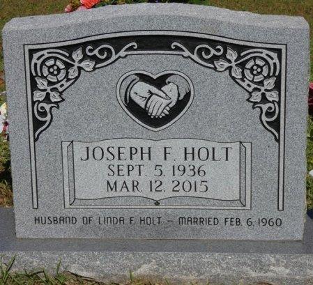 HOLT, JOSEPH FRANCIS - Colbert County, Alabama | JOSEPH FRANCIS HOLT - Alabama Gravestone Photos