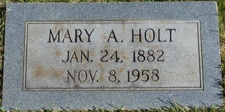 HOLT, MARY A - Colbert County, Alabama   MARY A HOLT - Alabama Gravestone Photos