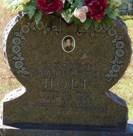 HOLT, SAMMIE LOUISE - Colbert County, Alabama | SAMMIE LOUISE HOLT - Alabama Gravestone Photos