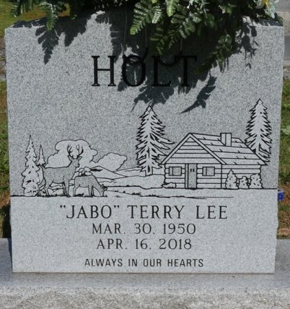 """HOLT, TERRY LEE """"JABO"""" - Colbert County, Alabama   TERRY LEE """"JABO"""" HOLT - Alabama Gravestone Photos"""
