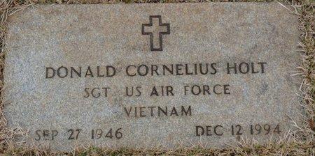 HOLT (VETERAN VIETNAM), DONALD CORNELIUS - Colbert County, Alabama | DONALD CORNELIUS HOLT (VETERAN VIETNAM) - Alabama Gravestone Photos