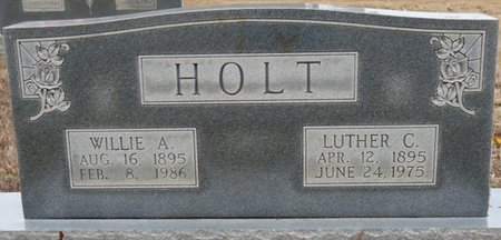 HOLT, WILLIE ANNA - Colbert County, Alabama | WILLIE ANNA HOLT - Alabama Gravestone Photos