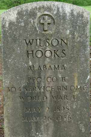 HOOKS (VETERAN WWI), WILSON - Colbert County, Alabama   WILSON HOOKS (VETERAN WWI) - Alabama Gravestone Photos