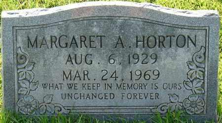 HORTON, MARGARET A - Colbert County, Alabama | MARGARET A HORTON - Alabama Gravestone Photos