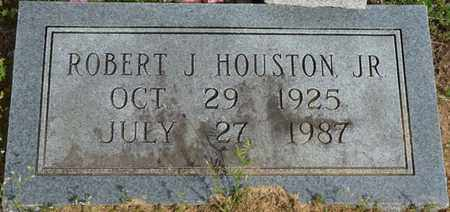 HOUSTON JR., ROBERT J - Colbert County, Alabama | ROBERT J HOUSTON JR. - Alabama Gravestone Photos