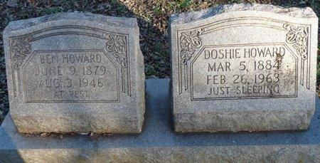HOWARD, BEN H - Colbert County, Alabama   BEN H HOWARD - Alabama Gravestone Photos