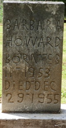 HOWARD, BARBARA GAIL - Colbert County, Alabama | BARBARA GAIL HOWARD - Alabama Gravestone Photos