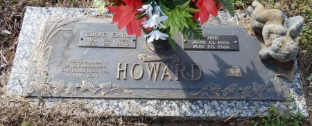 HOWARD, EDDIE EARL - Colbert County, Alabama | EDDIE EARL HOWARD - Alabama Gravestone Photos