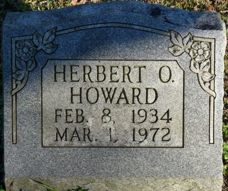 HOWARD, HERBERT O - Colbert County, Alabama   HERBERT O HOWARD - Alabama Gravestone Photos