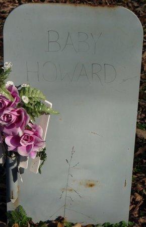 HOWARD, INFANT - Colbert County, Alabama | INFANT HOWARD - Alabama Gravestone Photos