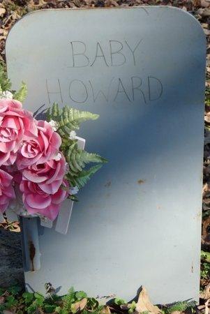 HOWARD, INFANT - Colbert County, Alabama   INFANT HOWARD - Alabama Gravestone Photos